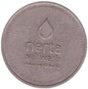 Jeton de lavage automobile - SMK Nerta Selfwash (Lipetsk) – revers