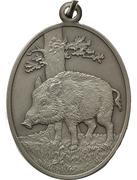 Médaille - Année du cochon -  avers
