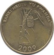 10 francs (BANKI NKURU Y'U RWANDA) – revers