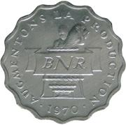 2 Francs (FAO) – avers