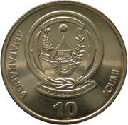 10 francs (BANKI NASIYONALI Y'U RWANDA) – revers