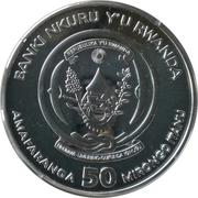 50 francs (Année du coq) -  avers