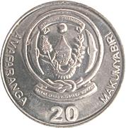 20 Francs (Type 2 légende) – avers