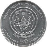 50 francs (Année du cochon) -  avers