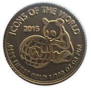 10 Francs Icones du monde Panda – revers