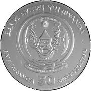 50 francs Année du rat -  avers