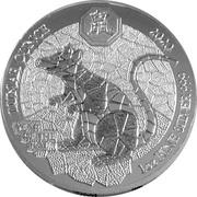 50 francs Année du rat -  revers