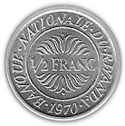 ½ franc – revers