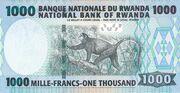 1.000 Francs – revers