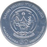 50 francs (Année du chien) -  avers