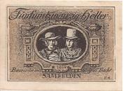 25 Heller (Saalfelden) – revers