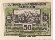 50 Heller (Saalfelden) -  avers