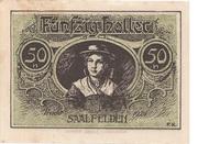 50 Heller (Saalfelden) -  revers