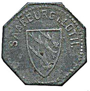 10 pfennig - Saarburg in Lothringen (Sarrebourg [57]) – avers
