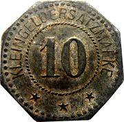 10 pfenning - Saargemünd (Sarreguemines [57]) – revers