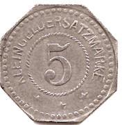 5 pfennig - Saargemünd (Sarreguemines [57]) – revers