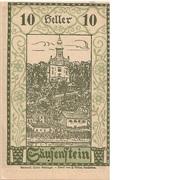 10 Heller (Säusenstein) – avers