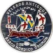 1000 Pesetas (Norther European Ship) – revers