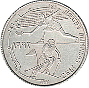 500 Pesetas (Jeux olympiques Barcelone 1992) – revers