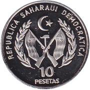 10 Pesetas -  avers