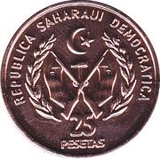 25 Pesetas -  avers