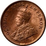 ¼ Anna - George V (Sailana State) – avers
