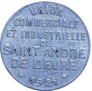 5 Centimes Saint André de l'Eure – avers