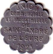 25 Centime Saint André de l'Eure [27] – avers