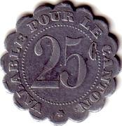25 Centime Saint André de l'Eure [27] – revers