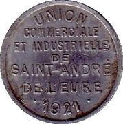 10 Centime - Union commerciale et industrielle de Saint André de l'Eure [27] – avers