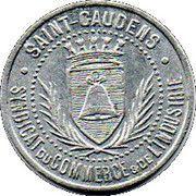 5 Centimes (Syndicat du Commerce & de l'Idustrie) - Saint Gaudens [31] – avers