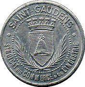10 Centimes - Syndicat du Commerce et de l'Industrie - Saint Gaudens [31] – avers