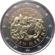 2 euros Pinturicchio -  avers