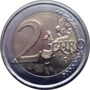2 euros Pinturicchio -  revers