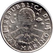 50 lires (égalité) – avers