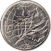 50 lires (égalité) – revers