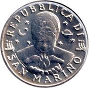50 lires (sculpture) – avers