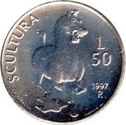 50 lires (sculpture) – revers