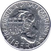 50 lires – avers