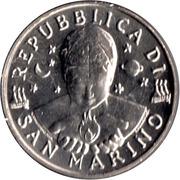50 lires (technologie) – avers