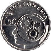 50 lires (technologie) – revers