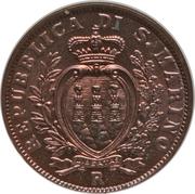 5 centesimi – avers