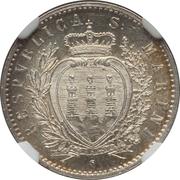 50 centesimi – avers