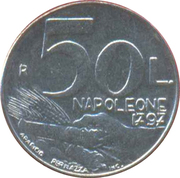 50 Lires – revers