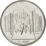 100 lires – revers