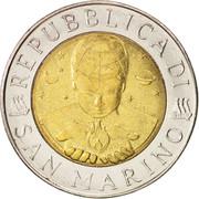 500 Lires (exploration) -  avers