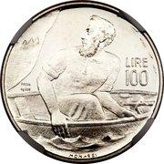 100 Lira (Trial Strike) – revers