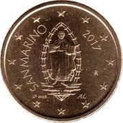50 cents d'euro (2e type) -  avers