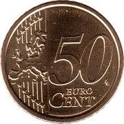 50 cents d'euro (2e type) -  revers