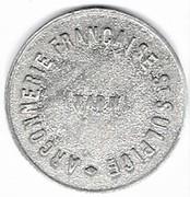 50 centimes - Arçonnerie Française - Saint-Sulpice (81) – avers